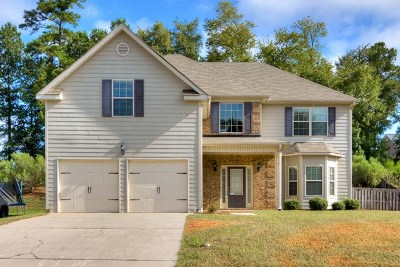 Grovetown Single Family Home For Sale: 221 Corley Circle