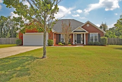 Augusta Single Family Home For Sale: 3210 Riverstone Drive