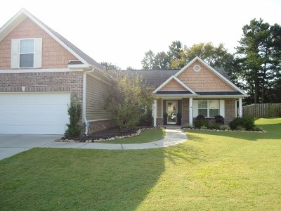 Grovetown Single Family Home For Sale: 4808 High Meadows Drive