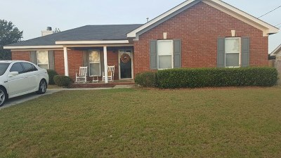 Augusta Single Family Home For Sale: 3607 Bremen Drive