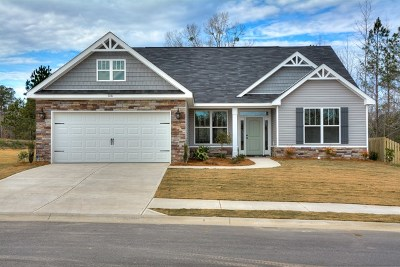 Grovetown Single Family Home For Sale: 106 Swinton Pond Road