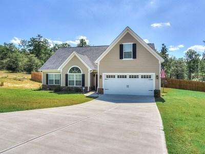 Hephzibah Single Family Home For Sale: 2636 New Hope Circle