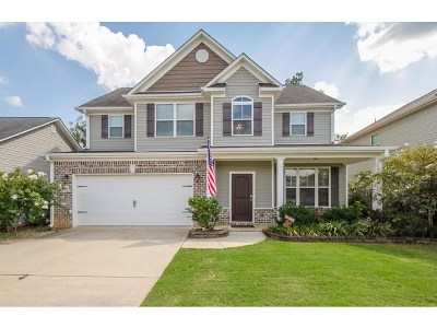 Grovetown GA Single Family Home For Sale: $209,900