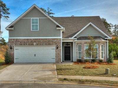Grovetown GA Single Family Home For Sale: $201,800