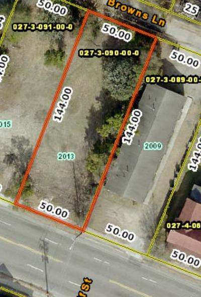 Augusta Residential Lots & Land For Sale: 2013 Broad Street