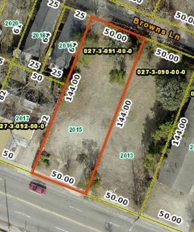 Augusta Residential Lots & Land For Sale: 2015 Broad Street