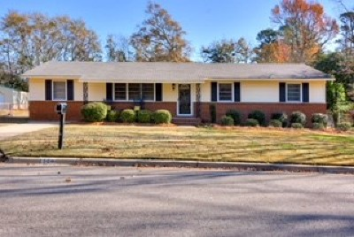 Augusta GA Single Family Home For Sale: $135,000