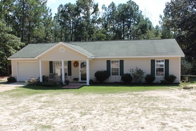 Dearing Single Family Home For Sale: 5872 Goett Road