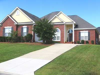 Evans Single Family Home For Sale: 4862 Somerset Drive
