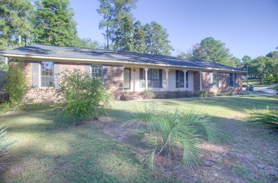 Augusta Single Family Home For Sale: 714 Stillwater Drive