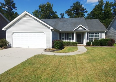 Grovetown Single Family Home For Sale: 557 Cranberry Circle