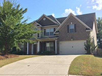 Grovetown Single Family Home For Sale: 403 Keesaw Glen
