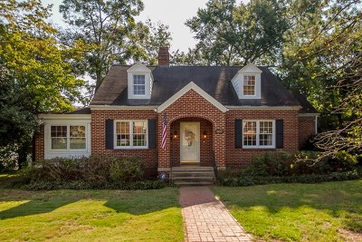 Augusta Single Family Home For Sale: 802 Hickman Road