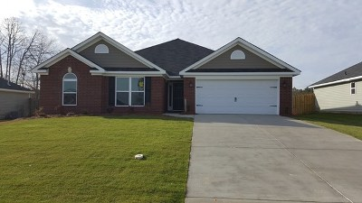 Hephzibah Single Family Home For Sale: 2696 Ardwick Drive