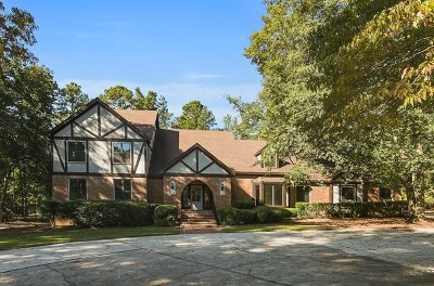 Grovetown Single Family Home For Sale: 852 Lake Royal Drive