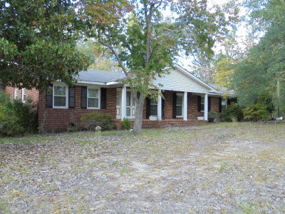 Dearing Single Family Home For Sale: 6607 Hwy 221