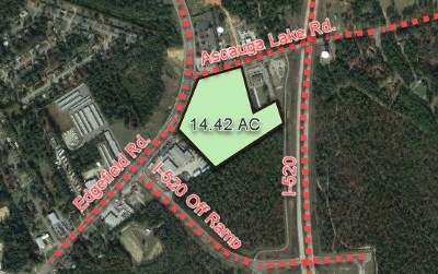 North Augusta Residential Lots & Land For Sale: 899 Edgefield Road