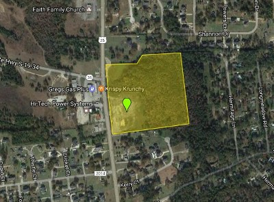 North Augusta Residential Lots & Land For Sale: 1175 Edgefield Road