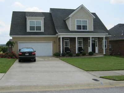 Evans Single Family Home For Sale: 619 Cornerstone Place