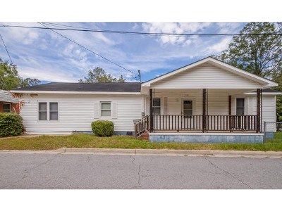Thomson Single Family Home For Sale: 201 3rd Street