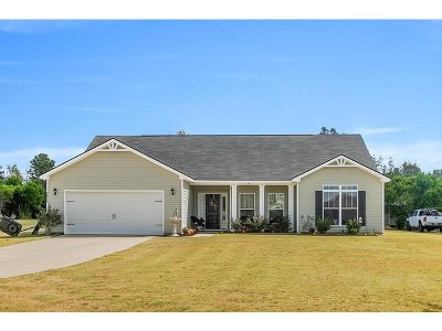 Beech Island Single Family Home For Sale: 5038 Durango Pine Lane