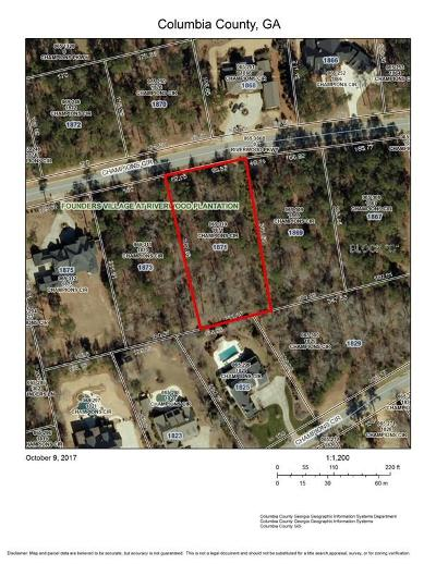 Evans Residential Lots & Land For Sale: 1871 Champions Circle