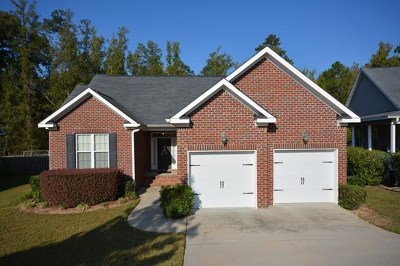 Grovetown Single Family Home For Sale: 862 Tyler Woods Drive
