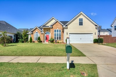 Grovetown Single Family Home For Sale: 727 Gallaway Lane