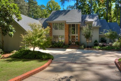 Augusta Single Family Home For Sale: 8 Bent Tree Court