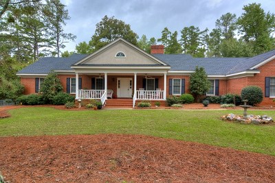 North Augusta Single Family Home For Sale: 1100 Old Plantation Road