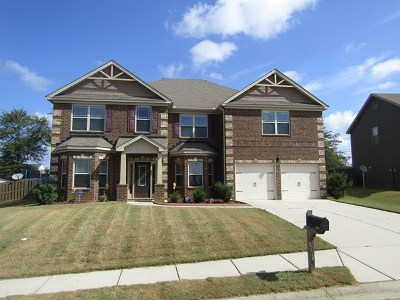 Grovetown Single Family Home For Sale: 3064 Parkridge Drive