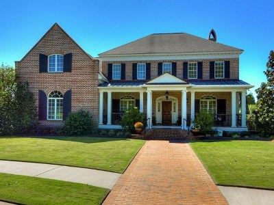 North Augusta Single Family Home For Sale: 166 E Shoreline Drive