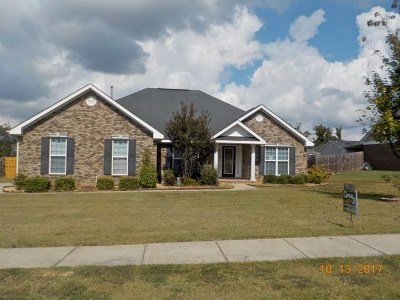 Grovetown Single Family Home For Sale: 2051 Lake Forest Drive