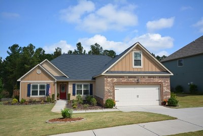 Evans Single Family Home For Sale: 1219 Cypress Trail