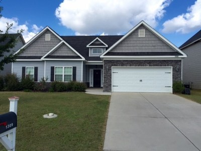 Grovetown Single Family Home For Sale: 1309 York Drive