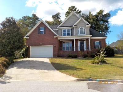 Evans Single Family Home For Sale: 2026 Sumter Landing Circle
