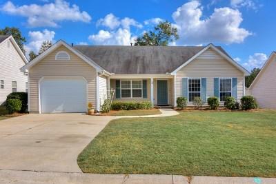 Grovetown Single Family Home For Sale: 629 Creek Bottom Trail