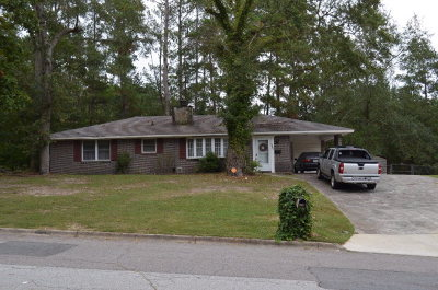 Richmond County Single Family Home For Sale: 3602 Elliott Blvd