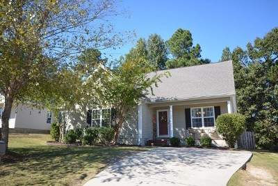 Grovetown Single Family Home For Sale: 1968 Shoreline Drive