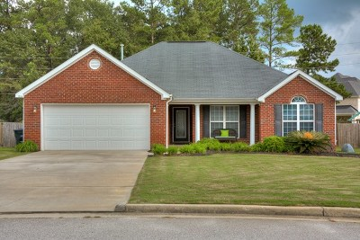 North Augusta Single Family Home For Sale: 264 Mill Stone Lane