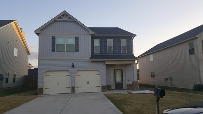 Grovetown Single Family Home For Sale: 4454 Grove Landing Drive