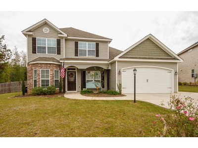 Grovetown Single Family Home For Sale: 482 Sebastian Drive
