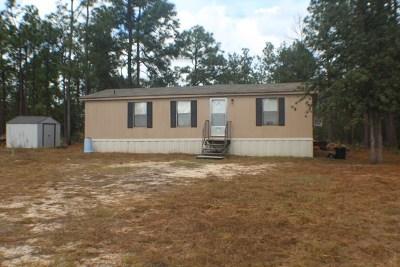 Richmond County Manufactured Home For Sale: 4449 Dean Bridge Road