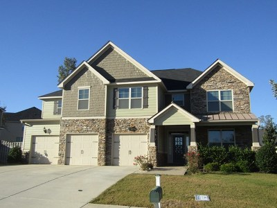 Grovetown Single Family Home For Sale: 8510 Crenshaw Drive