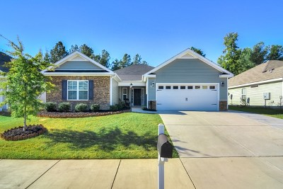 Grovetown Single Family Home For Sale: 475 Sebastian Drive