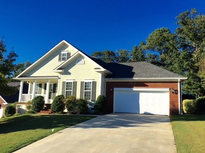 Grovetown Single Family Home For Sale: 418 Burgamy Ridge