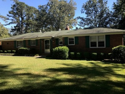 Richmond County Single Family Home For Sale: 412 Ashland Drive