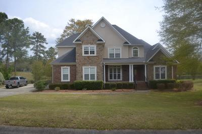 North Augusta Single Family Home For Sale: 355 Lake Murray Drive