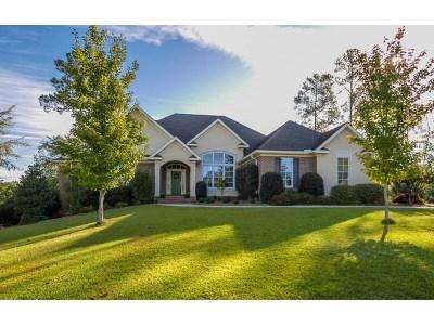 Evans Single Family Home For Sale: 350 Gardenia Drive