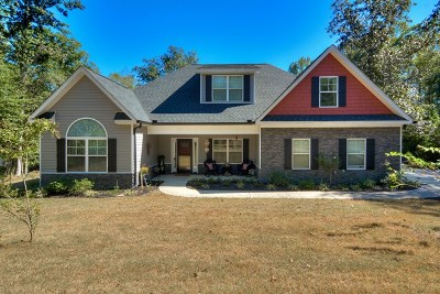 North Augusta Single Family Home For Sale: 3032 Lake Norman Drive